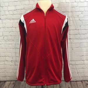 Adidas Men's Climacool Red Track Jacket